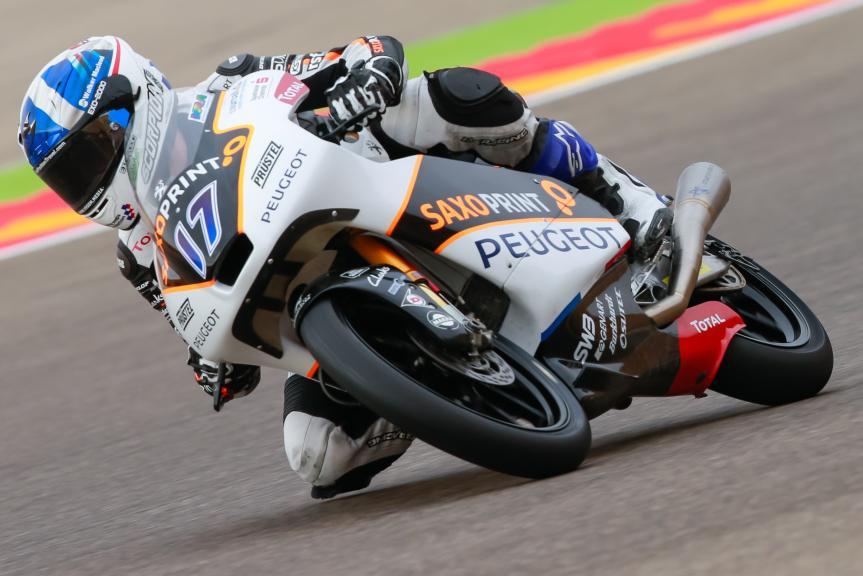 John Mcphee, Peugeot MC Saxoprint, Gran Premio Movistar de Aragón