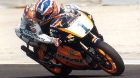 Watch all of the action from the dramatic 1996 Spanish Grand Prix at Jerez.
