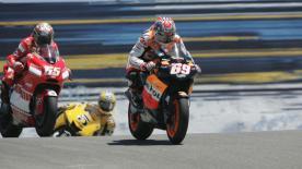 Relive the classic United States Grand Prix at Laguna Seca in 2005.