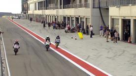 La prima sessione di prove libere per la Moto3™ sulla pista di Aragon.