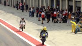 La seconda sessione di prove libere per la Moto3™ al MotorLand.