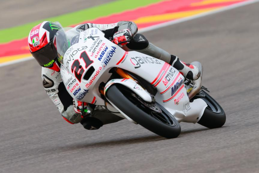 Francesco Bagnaia, ASPAR Mahindra Team Moto3, Gran Premio Movistar de Aragón