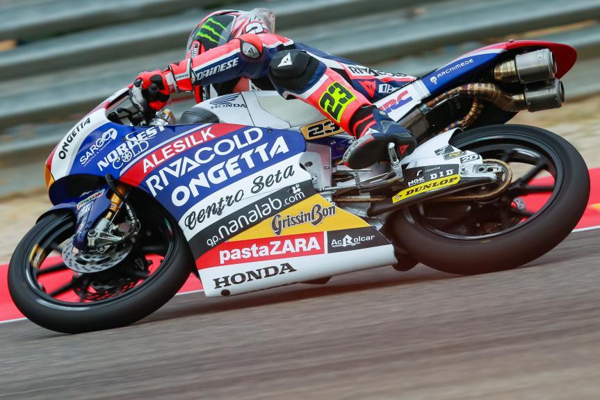 Niccolò Antonelli, Ongetta-Rivacold, Gran Premio Movistar de Aragón