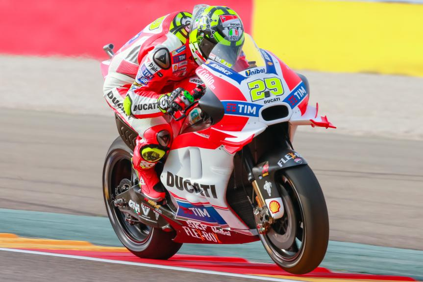 Andrea Iannone, Ducati Team, Gran Premio Movistar de Aragón
