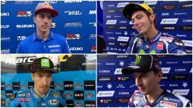 I risultati delle prove libere commentati dai protagonisti del MotoGP™.