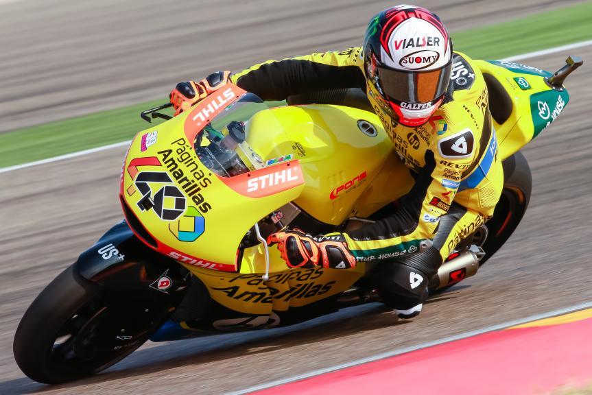 Alex Rins, Paginas Amarillas HP 40, Gran Premio Movistar de Aragón