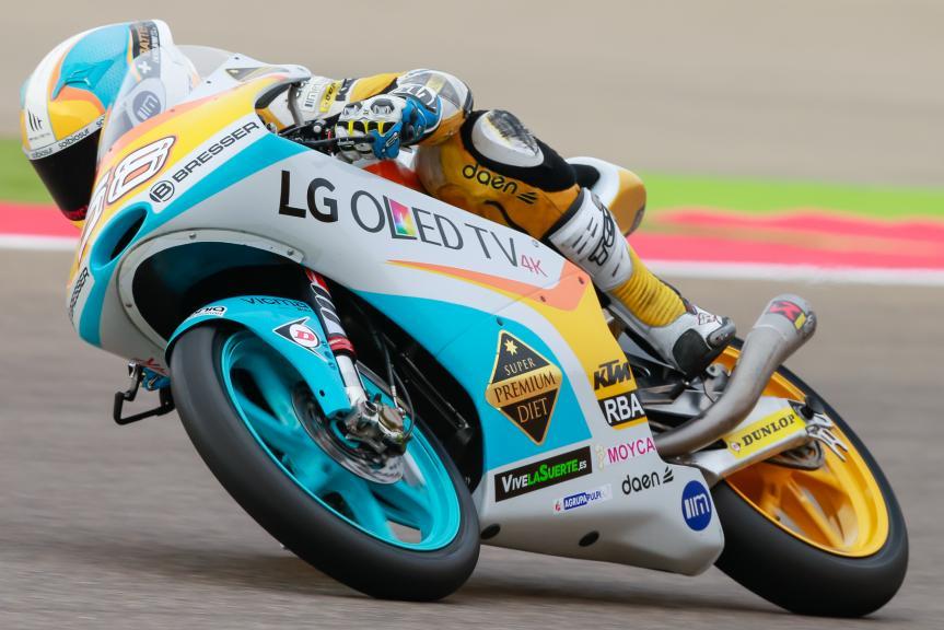 Juanfran Guevara, RBA Racing Team, Gran Premio Movistar de Aragón