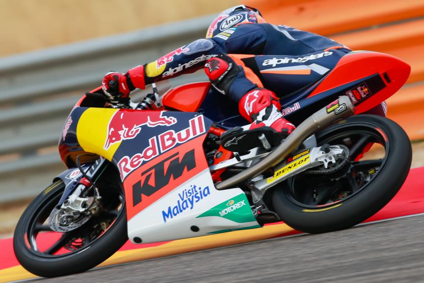 Bo Bendsneyder, Red Bull KTM Ajo, Gran Premio Movistar de Aragón