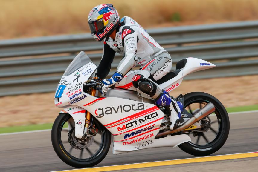 Jorge Martin, ASPAR Mahindra Team Moto3, Gran Premio Movistar de Aragón
