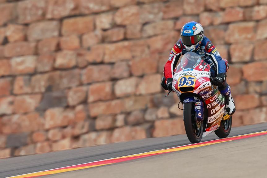 Jules Danilo, Ongetta-Rivacold, Gran Premio Movistar de Aragón