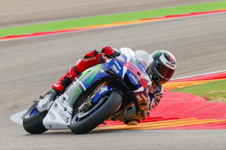 Jorge Lorenzo, Movistar Yamaha MotoGP, Gran Premio Movistar de Aragón