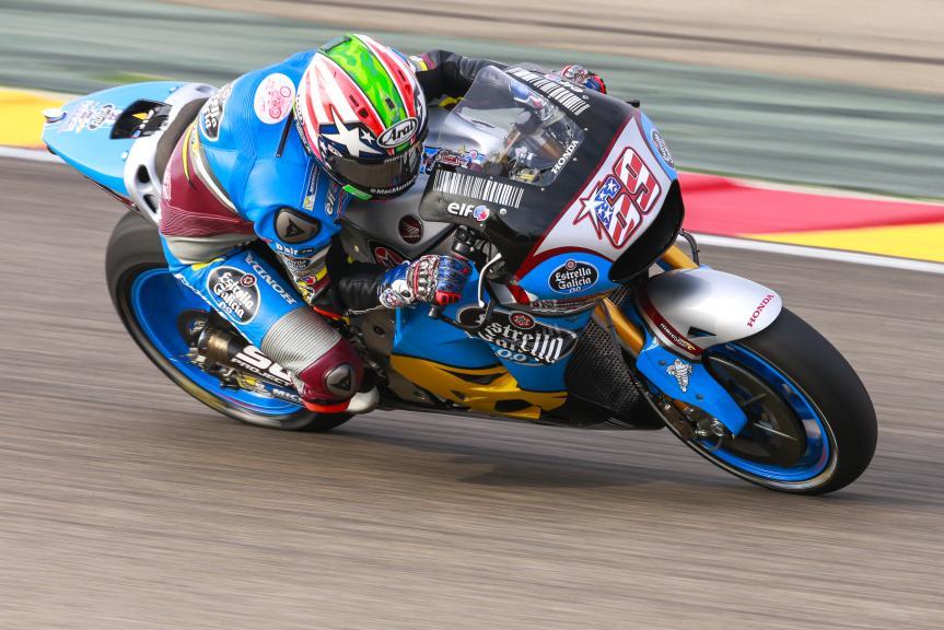 Nicky Hayden, Estrella Galicia 0,0 Marc VDS, Gran Premio Movistar de Aragon