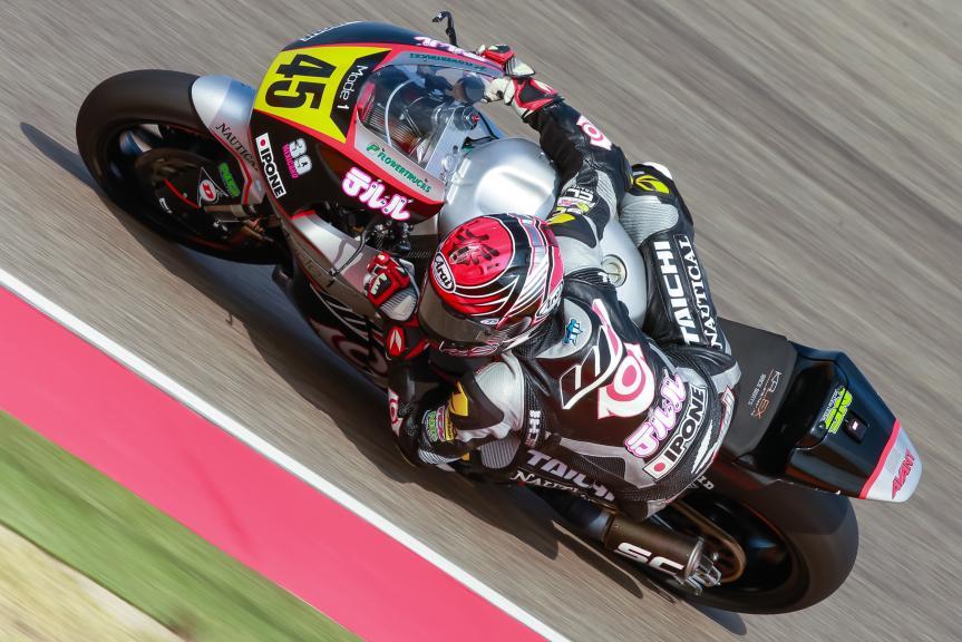 Tetsuta Nagashima, Ajo Motorsport Academy, Gran Premio Movistar de Aragón