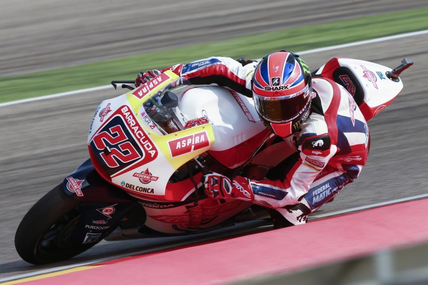 Sam Lowes, Federal Oil Gresini Moto2, Gran Premio Movistar de Aragón