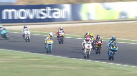 Moto3™: la terza sessione di libere al GP d'Aragona.