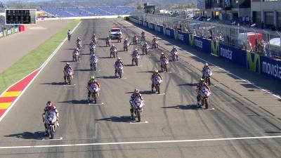 Red Bull MotoGP Rookies Cup : Aragón - Course 1