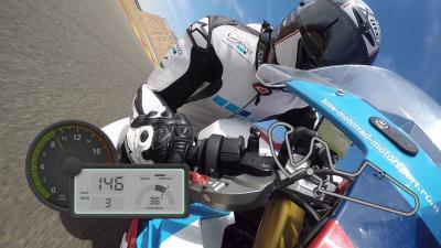 GoPro™ OnBoard im MotorLand Aragon
