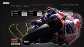 Find out what the ideal MotoGP™ lap from Q2 would have been around the MotorLand Aragon