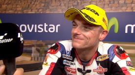 Quinta pole stagionale per Sam Lowes in Moto2™, il britannico è primo nelle qualifiche aragonesi.