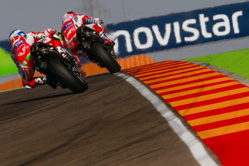 Andrea Dovizioso, Michele Pirro, Ducati Team, Gran Premio Movistar de Aragón