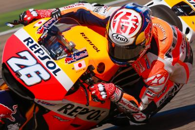 Pedrosa laments crash on pole position pace