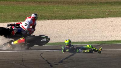 Re-Live Espargaro & Petrucci's spectacular clash in 4K