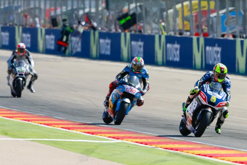 Hector Barbera, Nicky Hayden, Gran Premio Movistar de Aragón