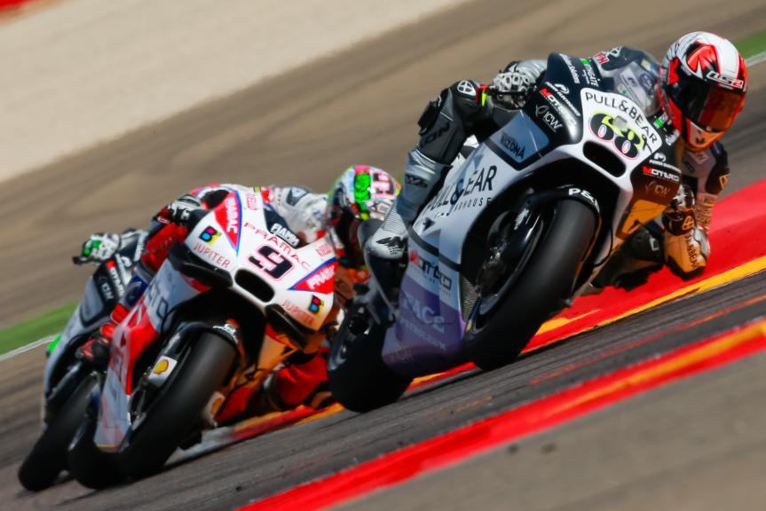 Yonny Hernandez, Danilo Petrucci, Gran Premio Movistar de Aragón