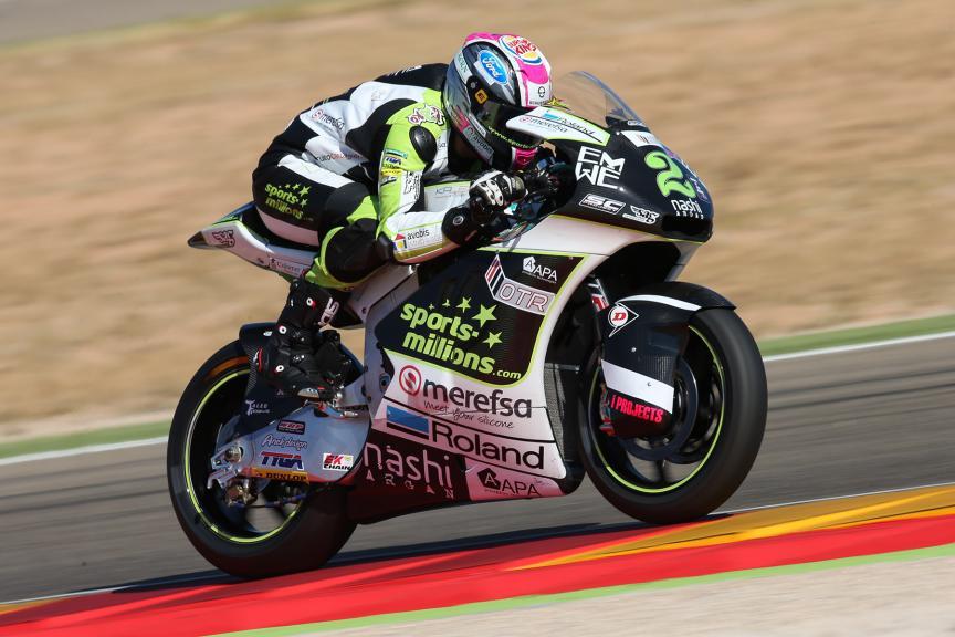 Jesko Raffin, Sports-Millions-EMWE-SAG, Gran Premio Movistar de Aragón