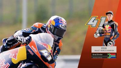 Moto3™クラスチャンピオン~ブラッド・ビンダー