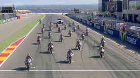 The full race 2 session from the Red Bull MotoGP Rookies Cup at the #AragonGP.