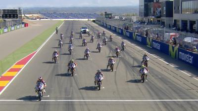 Red Bull MotoGP Rookies Cup: Race 2 #AragonGP