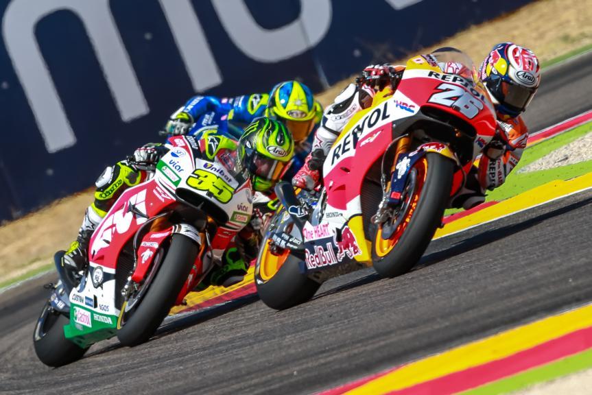 Dani Pedrosa, Cal Crutchlow, Gran Premio Movistar de Aragón