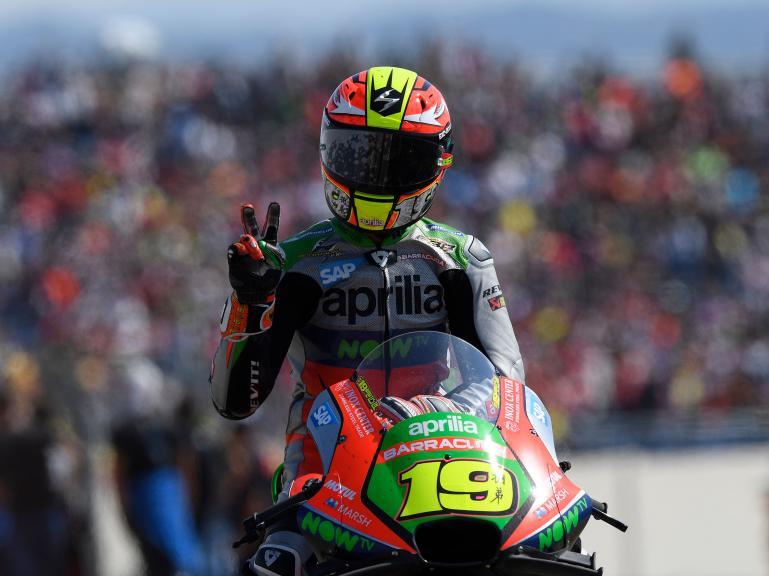 Alvaro Bautista, Aprilia Racing Team Gresini, Gran Premio Movistar de Aragón
