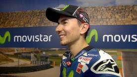 Lorenzo explique comment les changements apportés à sa moto après sa chute de dimanche matin lui ont permis de finir deuxième en course.