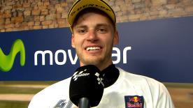 Brad Binder è secondo al MotorLand ma fa suo il titolo iridato in Moto3™.