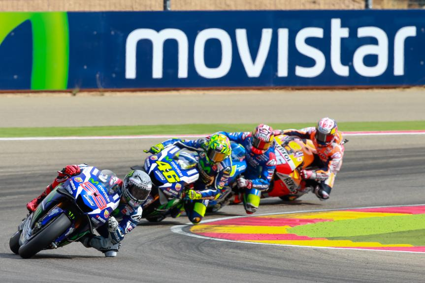 Valentino Rossi, Jorge Lorenzo, Movistar Yamaha MotoGP, Gran Premio Movistar de Aragón