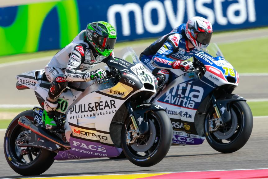 Eugene Laverty, Loris Baz, Gran Premio Movistar de Aragón