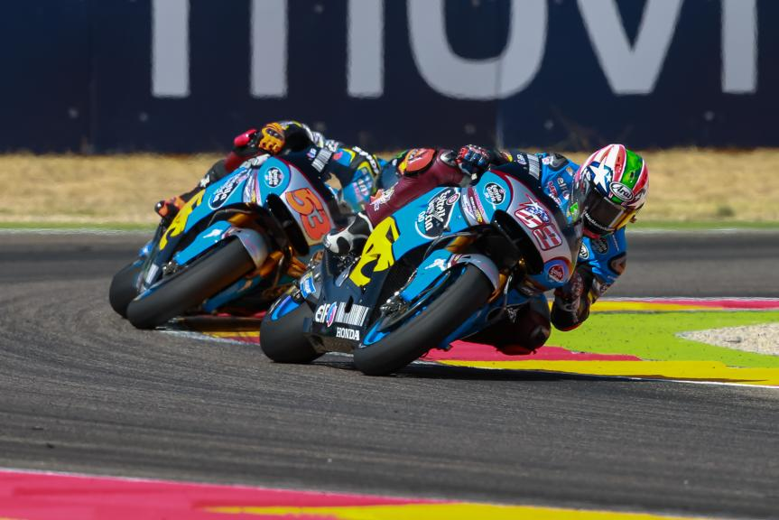 Tito Rabat, Nicky Hayden, Gran Premio Movistar de Aragón