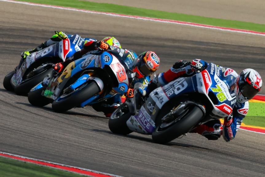 Loris Baz, Tito Rabat, Gran Premio Movistar de Aragón
