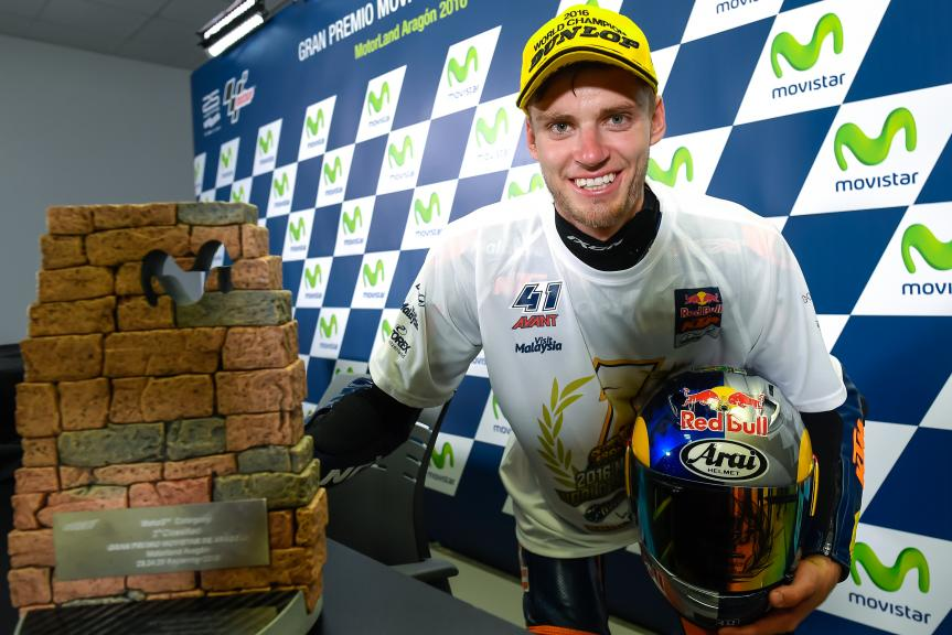 Brad Binder, Red Bull KTM Ajo, 2016 World Champion Moto3. ©Photo Milagro