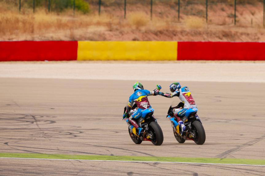 Franco Morbidelli and Alex Marquez, Estrella Galicia 0,0 Marc VDS, Gran Premio Movistar de Aragón