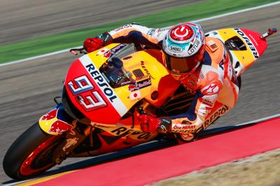 Marquez tops WUP as Lorenzo takes a tumble