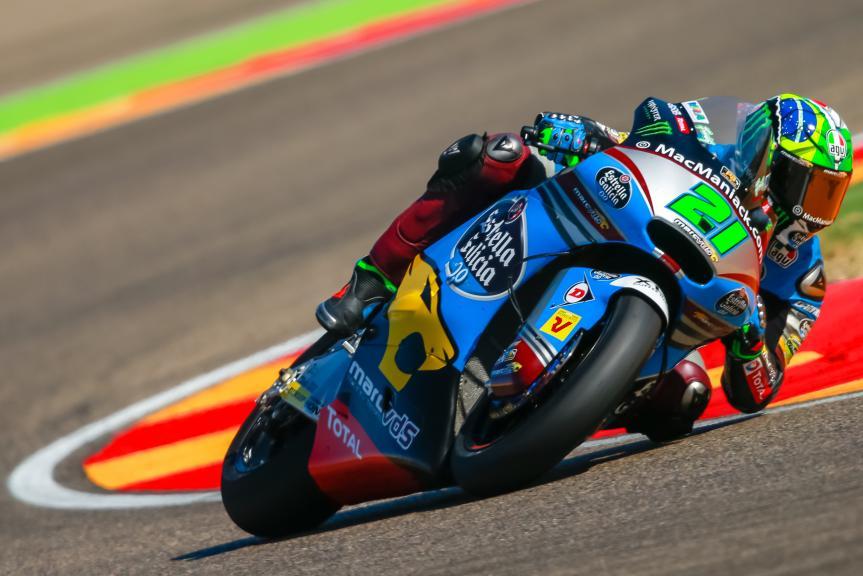 Franco Morbidelli, Estrella Galicia 0,0 Marc VDS, Gran Premio Movistar de Aragón