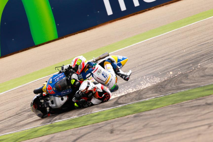 Fabio Spiranelli, CIP Unicom Starker and Stefano Valtulini, 3570 Team Italia, Gran Premio Movistar de Aragón