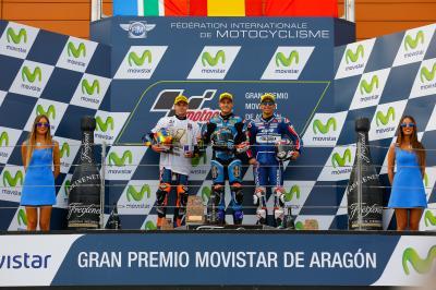 Victoria de Navarro y título mundial para Binder en Aragón