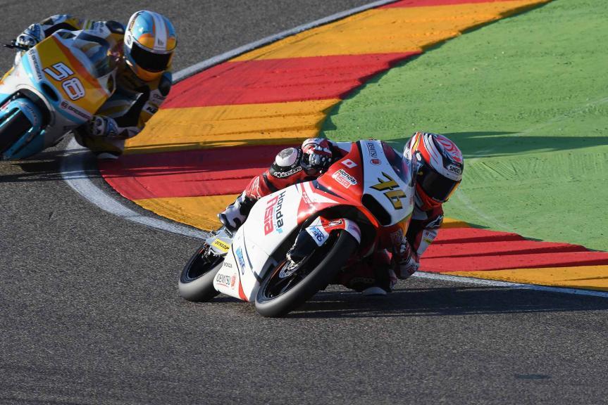 Hiroki Ono, Honda Team Asia, Gran Premio Movistar de Aragón
