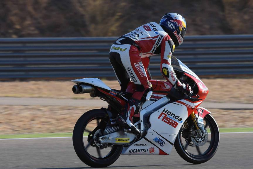 Khairul Idham Pawi, Honda Team Asia, Gran Premio Movistar de Aragón