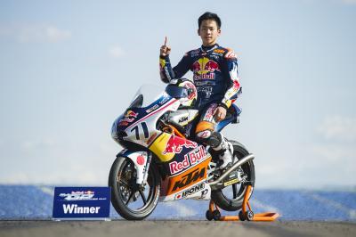Sasaki campeón de la Red Bull MotoGP Rookies Cup