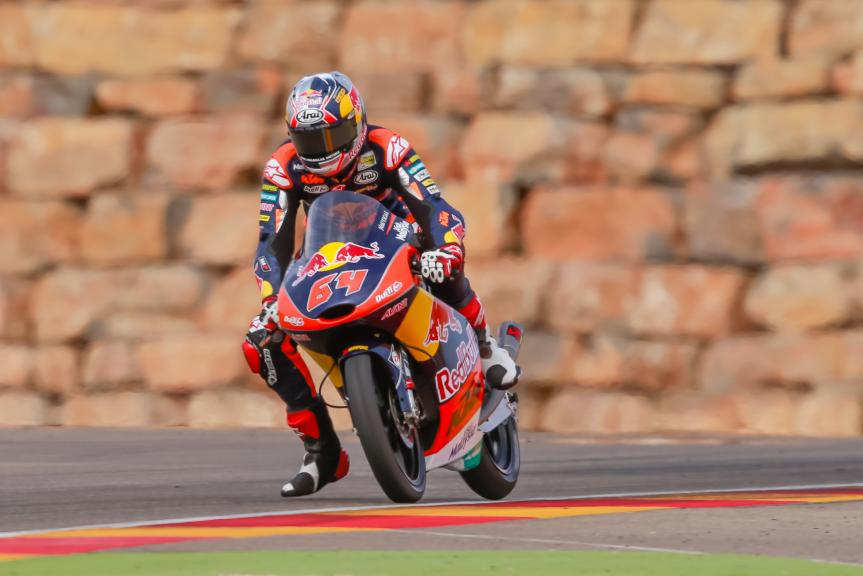 Bo Bendsneyder, Test at the Motorland, Aragon for Moto2 and Moto3